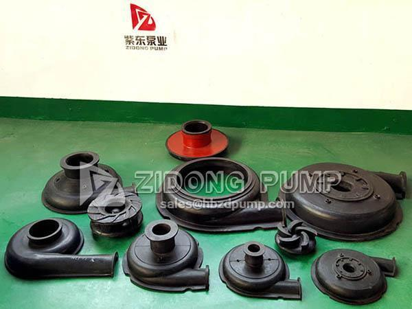 Rubber Pump Flow Components